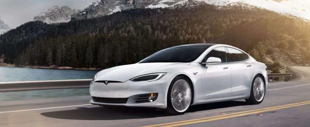 Tesla Model S из США в Минск