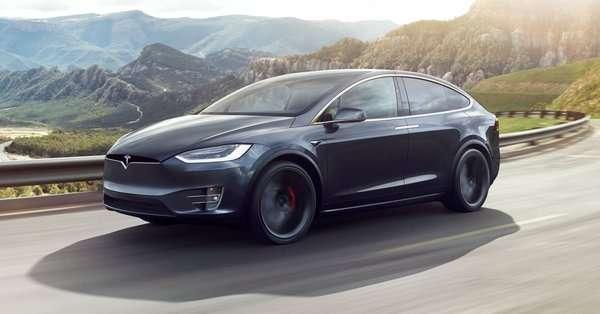Tesla Model x из США в Минск